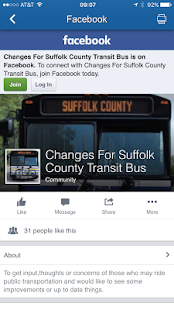 Suffolk County Transit- screenshot thumbnail