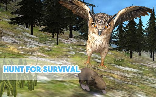 Wild Owl Simulator 3D 1,05 screenshots 2