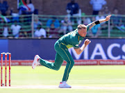 Dale Steyn of South Africa during the 4th Momentum ODI match between South Africa and Sri Lanka at St Georges Park on March 13, 2019 in Port Elizabeth, South Africa.