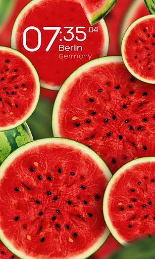Watermelon live wallpaper
