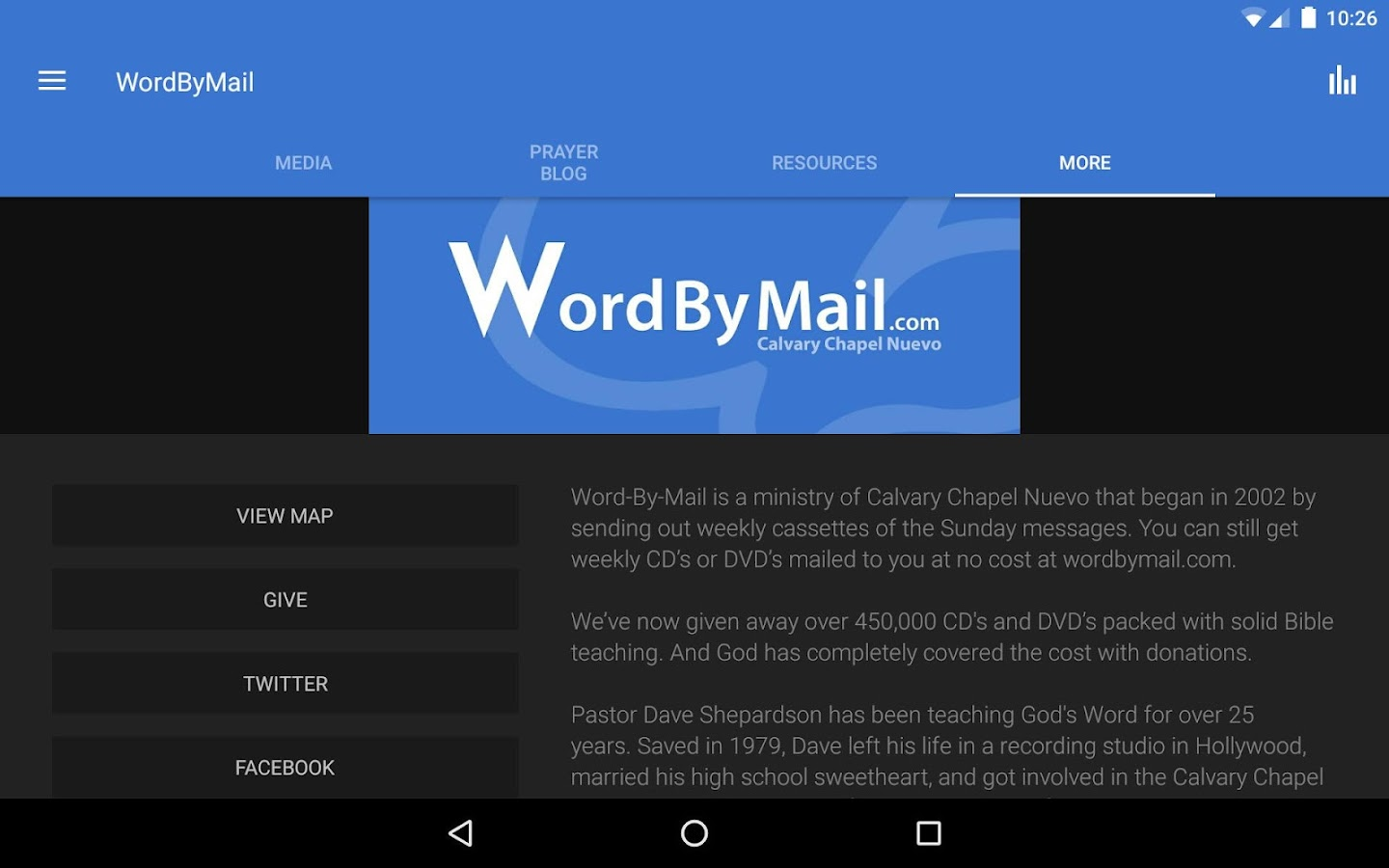 Word By Mail- screenshot