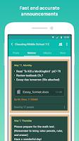Screenshot of Classting