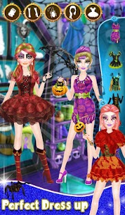 Halloween Girl Makeover- screenshot thumbnail