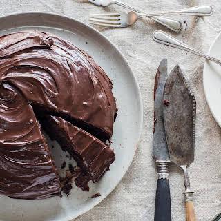Crazy Italian chocolate cake (egg free chocolate cake).