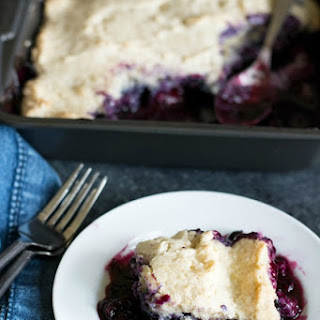 Homemade Gluten Free Blueberry Cobbler Recipe