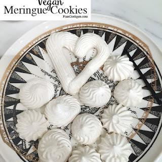 Vegan Meringue Cookies.