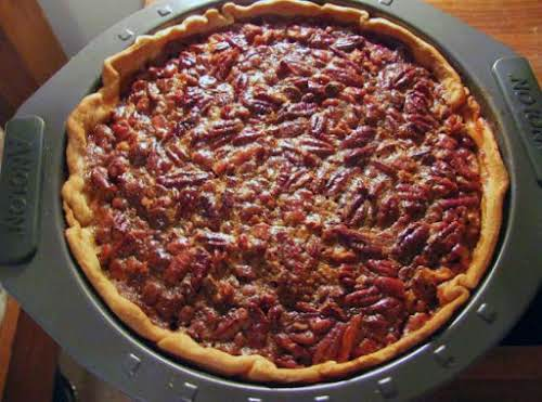 "Chocolate Kahlua Pecan Pie""It's an easy pie, with just a little extra..."