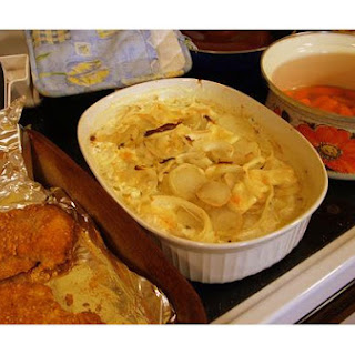 Au Gratin Potatoes Cheddar Cheese Soup Recipes