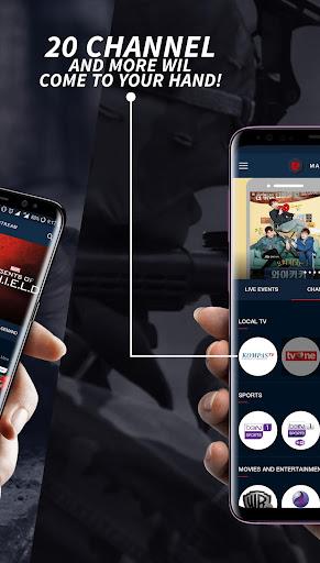 MAXstream - Stream Live Sports, TV Shows & Movies 1.2.6 screenshots 2
