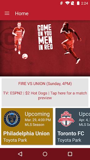 Chicago Fire SC - Official App
