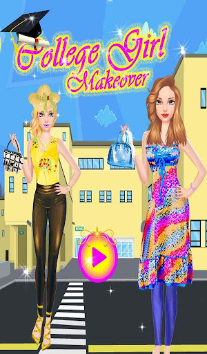 Collage Girl Makeover