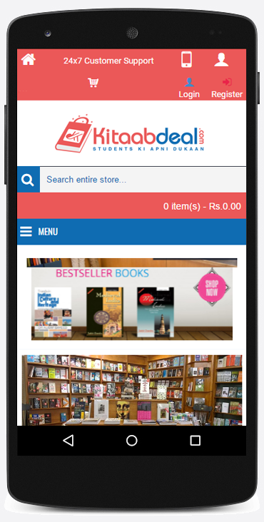 Kitaabdeal Online Shopping App- screenshot