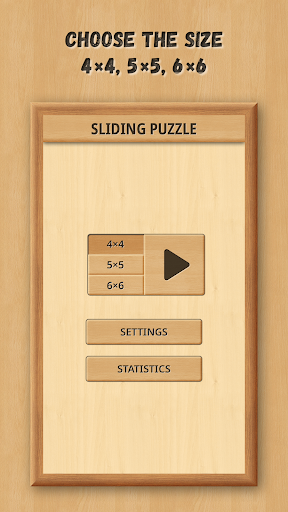 Sliding Puzzle: Wooden Classics 1.0.5 screenshots 1