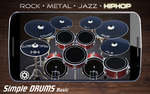 Simple Drums Basic - Virtual Drum Set 1.2.9 screenshots 7