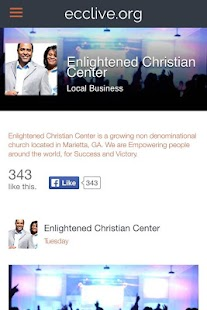 Enlightened Christian Center- screenshot thumbnail