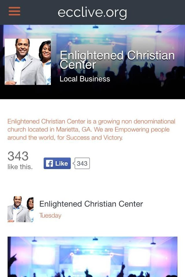 Enlightened Christian Center- screenshot