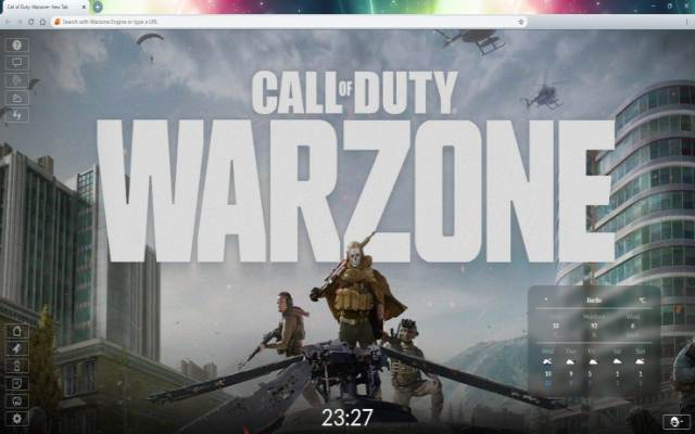 Call Of Duty Warzone New Tab Wallpaper