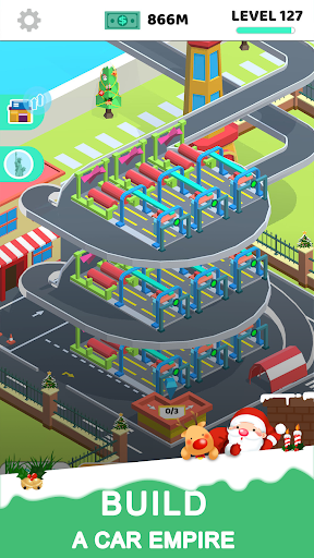 Idle Car Tycoon 1.29 Mod screenshots 1