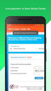 SuperTatkal – Train ticket Apk  Download For Android 6
