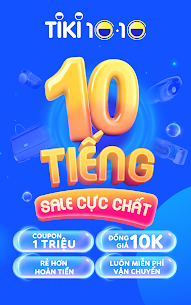 Tiki – 10.10 Săn Sale Mọi Nơi 3