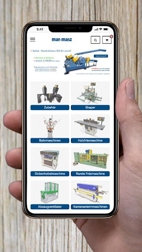 Mar-Masz Holzbearbeitungsmaschinen screenshots 1