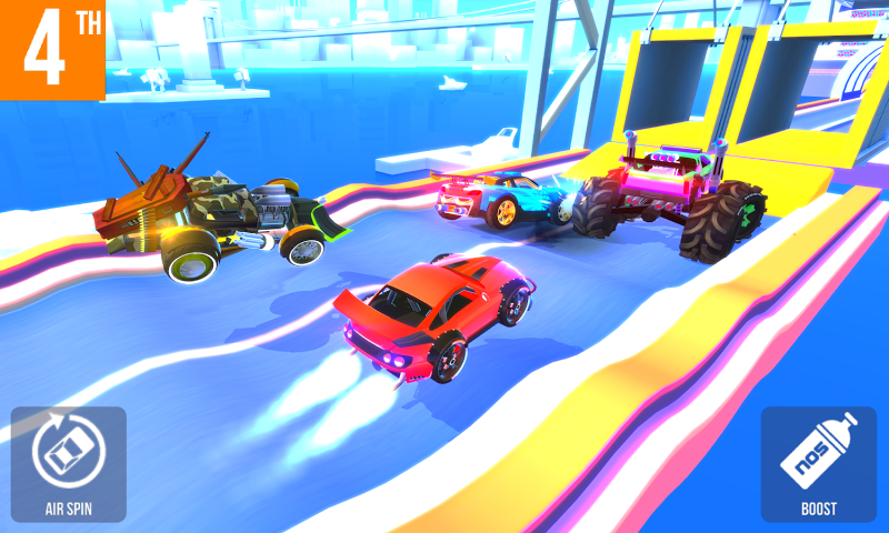 SUP Multiplayer Racing Screenshot 1