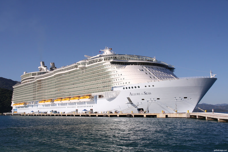 Photo: Allure of The Seas Cruise Ship Screenshot