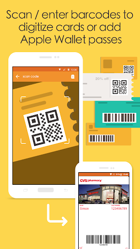 Pass2U Wallet - store cards, coupons, & barcodes Apk 1