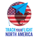 Track your flight N. America icon