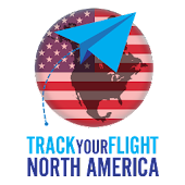 Track your flight N. America