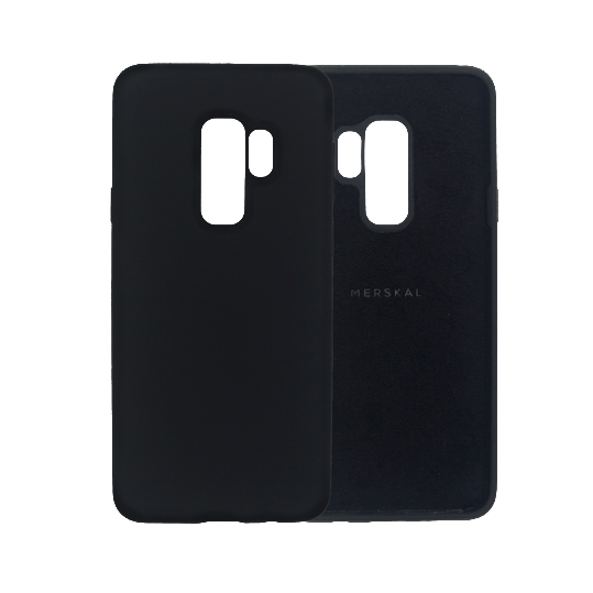 Merskal Soft Cover Galaxy S9 Plus - Black