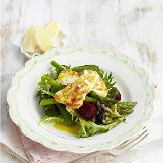 Mixed Haloumi Salad.