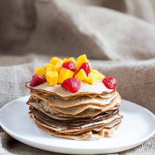 'Free From' Vegan Pancakes.
