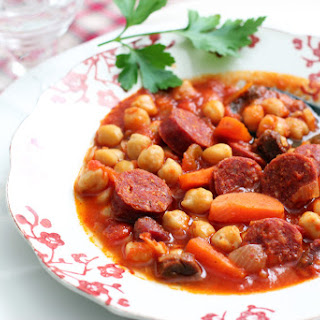 Spicy Chorizo Chickpea Stew