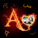 Fire Text Photo Frame – New Fire Photo Editor 2021 icon