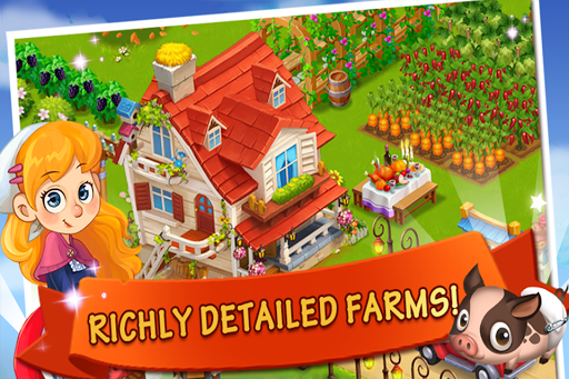 Happy Farm:Candy Day screenshot 10