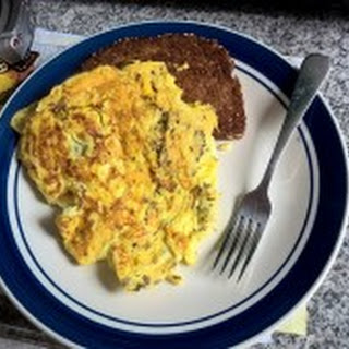 Perfect Scrambled Eggs with Fry Bread.
