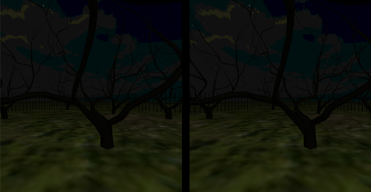 Graveyard VR Lite- screenshot