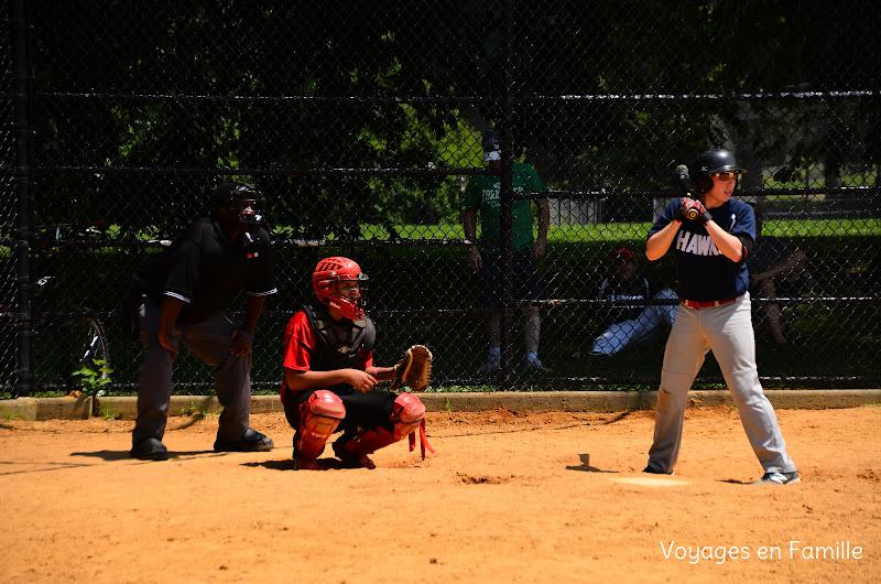 Central park base ball time