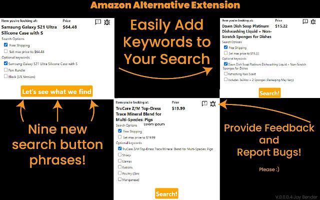 Amazon Alternative Search