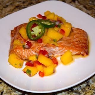 Baked Salmon With Mango Sauce Recipes