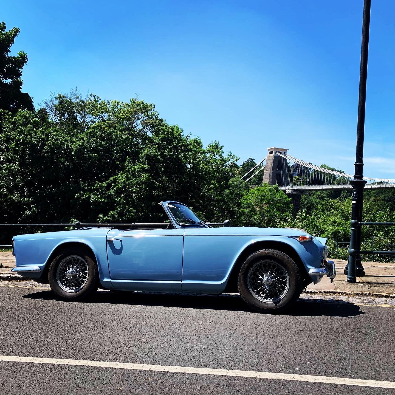 Triumph Tr4a Hire Bristol
