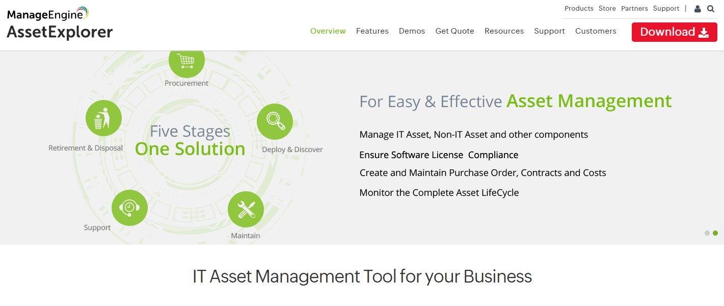 AssetExplorer IT Asset Management Software