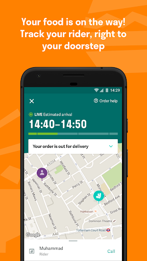 Deliveroo: Restaurant Delivery Aplicaciones (apk) descarga gratuita para Android/PC/Windows screenshot
