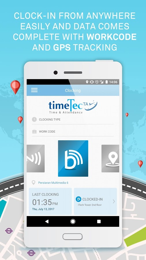 TimeTec TA- screenshot