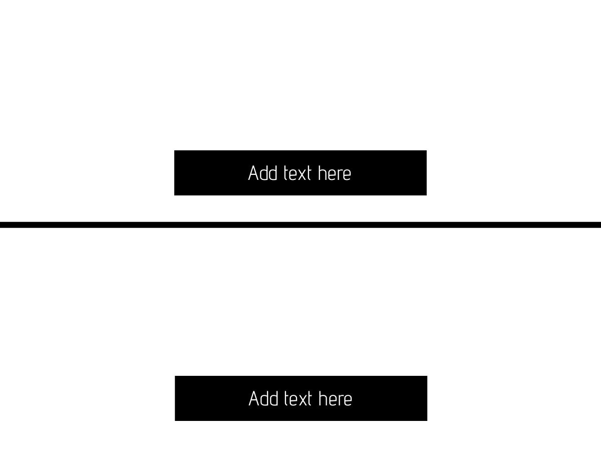 meme template split with text