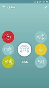 globio Alarm System Lite Screenshot 1
