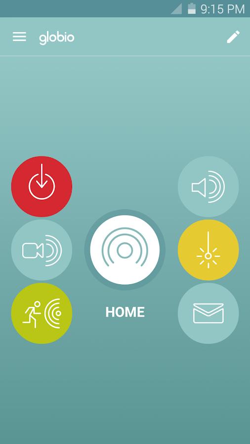 globio Alarm System Lite- screenshot