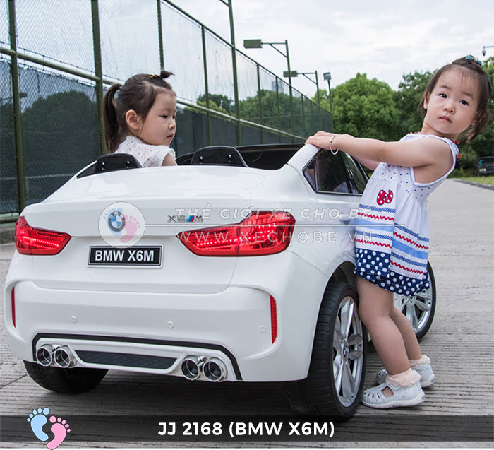 xe oto dien tre em BMW X6M JJ-2168 2