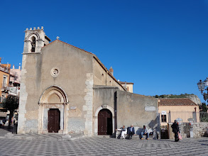 Photo: Redundant church of Sant' Agostino turned into public library